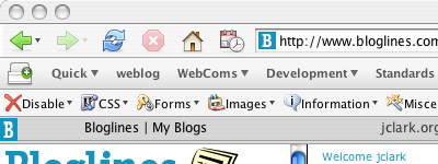 Default Firefox Theme on OS X