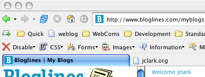 Modified Firefox Default Theme on OS X