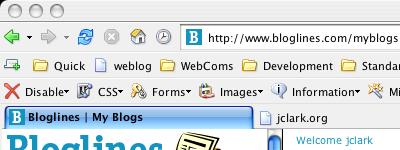 Modified Firefox Default Theme on OS X
